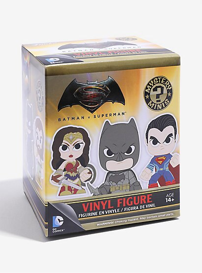 Batman v Superman Funko Mystery Mini Single Blind Box