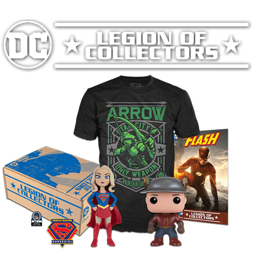 DC Legion of Collectors DC TV Box