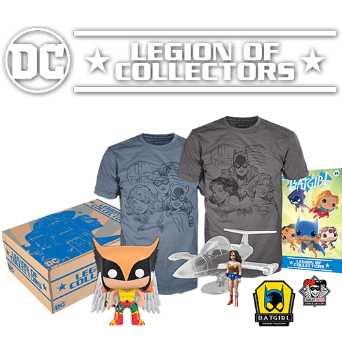 DC Legion Of Collectors Box Women Of DC