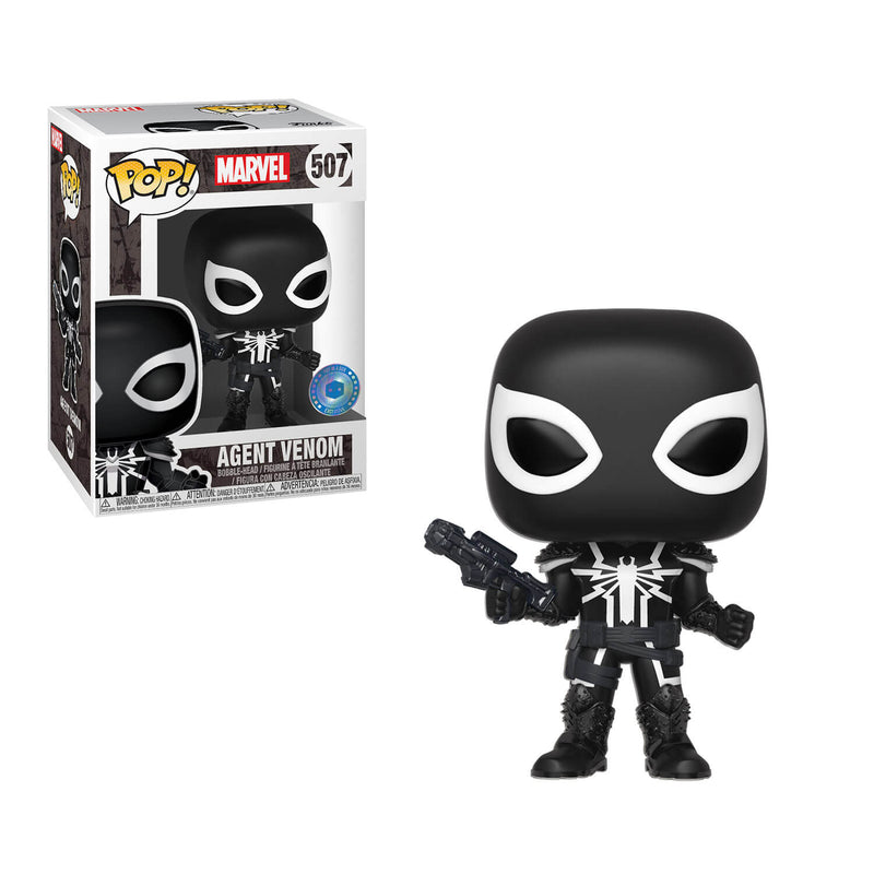 Agent Venom Pop in a Box Funko pop exclusive