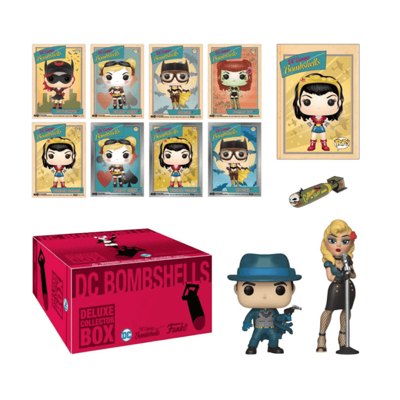 DC Bombshells Funko Collectors Box