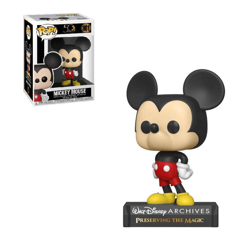 Mickey Mouse Funko Pop Classic Mickey Disney Archives