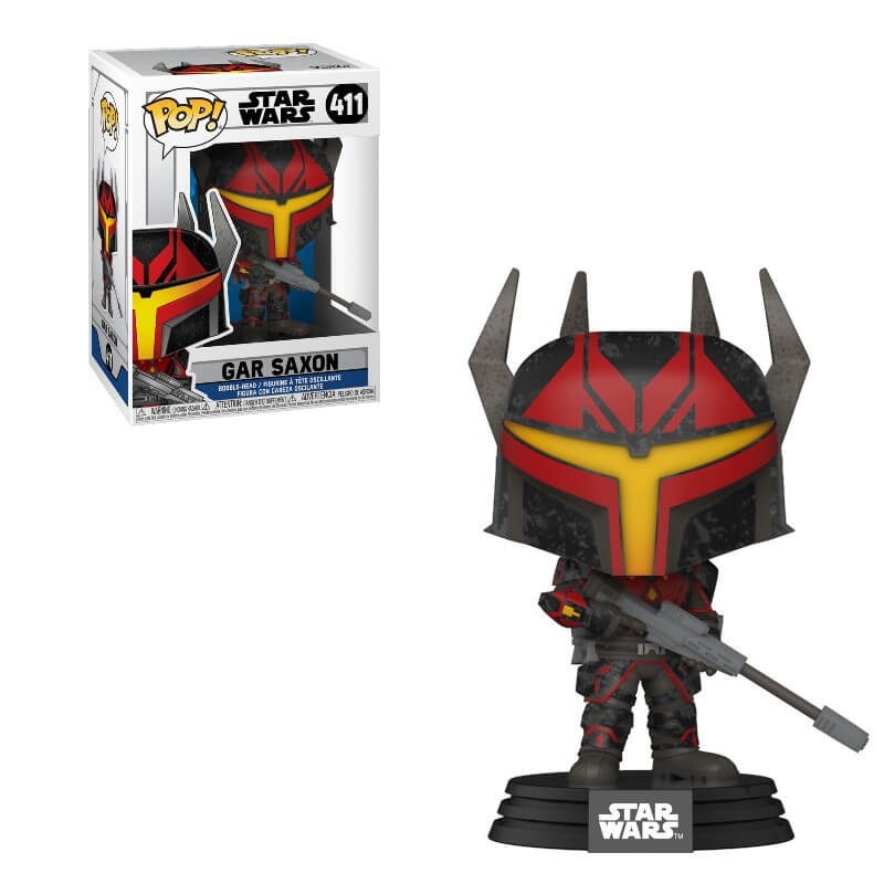 Star Wars Gar Saxon Clone Wars Funko Pop