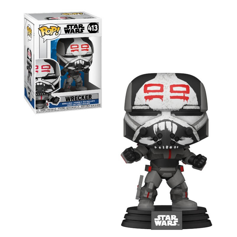 Star Wars Wrecker Clone Wars Funko Pop