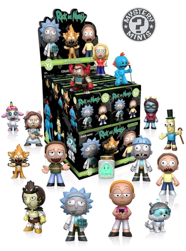 Rick and Morty Funko mystery minis Case of 12 figures