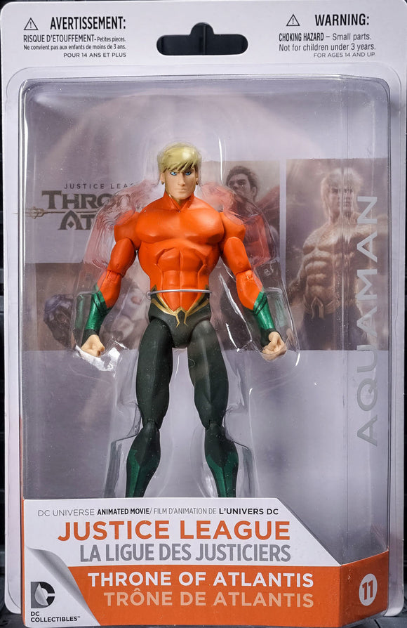 Aquaman Figure From Throne of Atlantis Series
