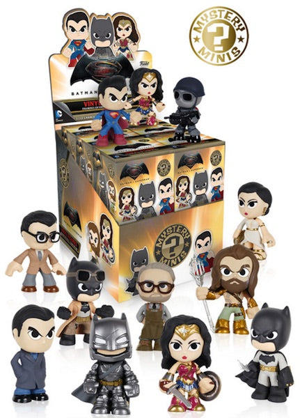 Batman v Superman Funko Pop Mystery Minis Case of 12 Sealed
