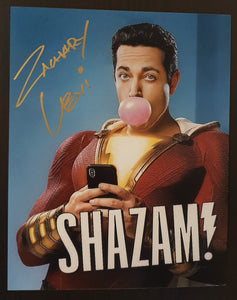 Signed In Person Zachary Levi as SHAZAM!
