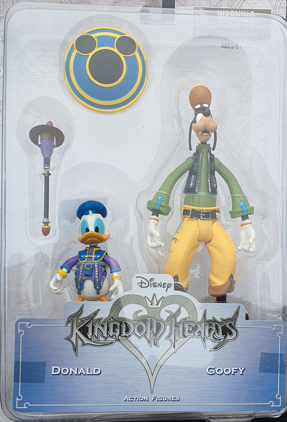 Disney Kingdom of Hearts Figures, Donald and Goofy