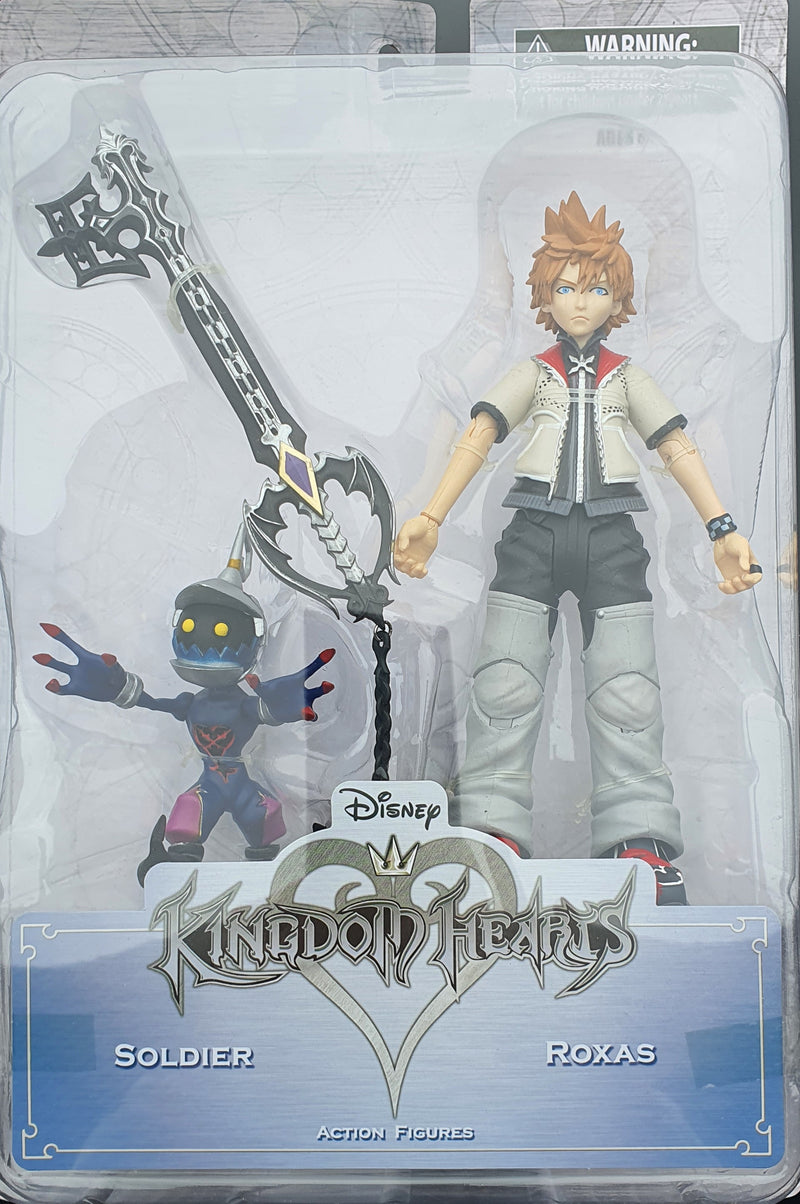 Disney Kingdom of Hearts Figures, Soldier and Roxas