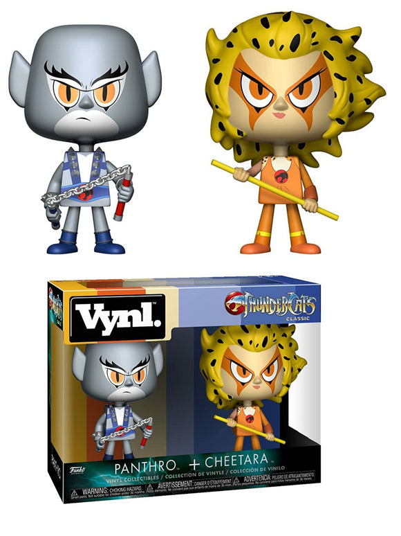 Panthro and Cheetara Thundercats Funko VYNL Figures