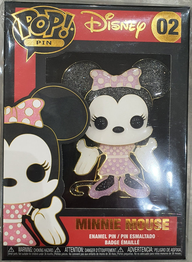 Minnie Mouse Funko Pop Pin Badge