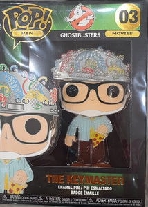 The Keymaster Ghostbusters Funko pop pin badge