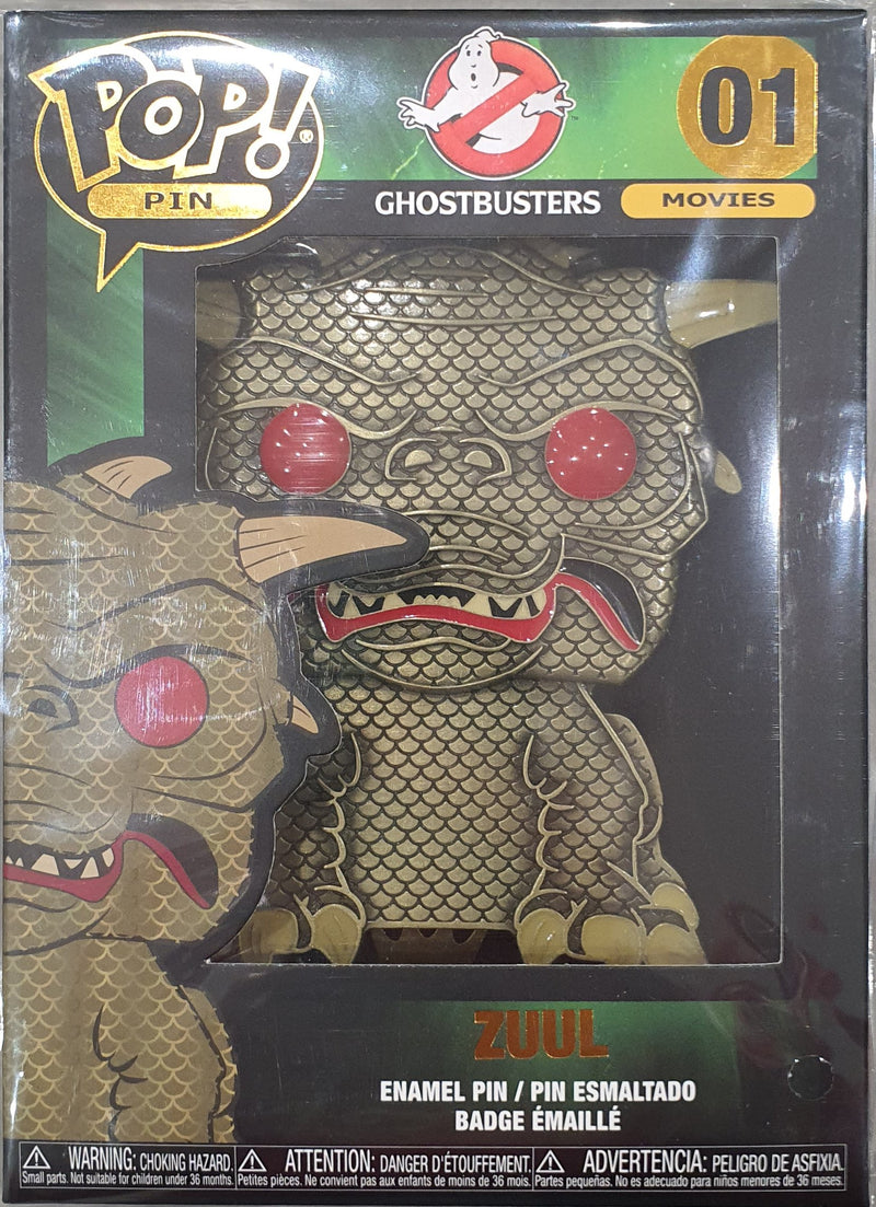 Zuul Ghostbusters Funko Pop pin badge