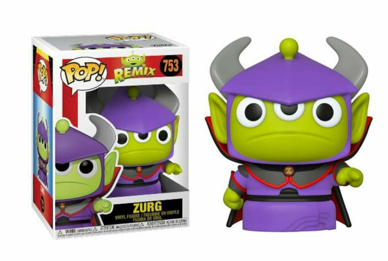 Alien Remix Zurg Funko Pop Pixar