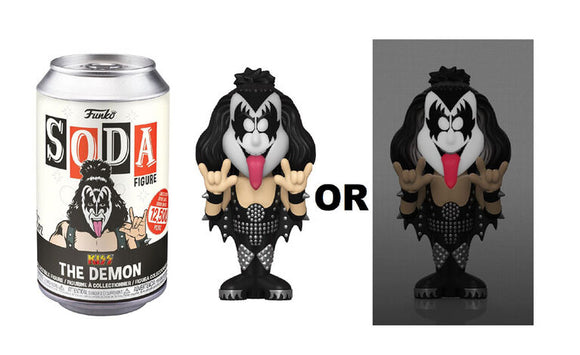 Kiss The Demon Funko Soda Figure