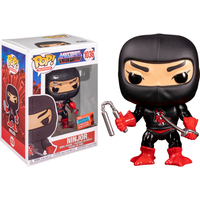 Ninjor Masters of the Universe Convention Exclusive Funko Pop