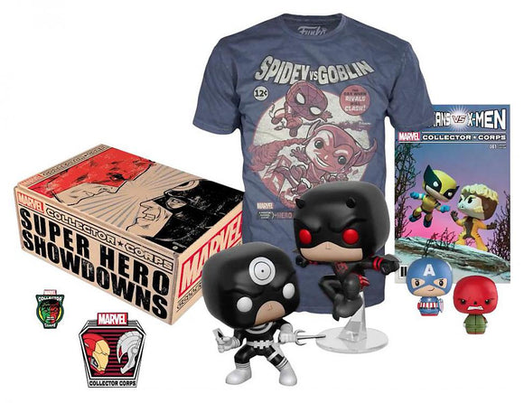 Marvel Superhero Showdown Funko Collector Corps Box