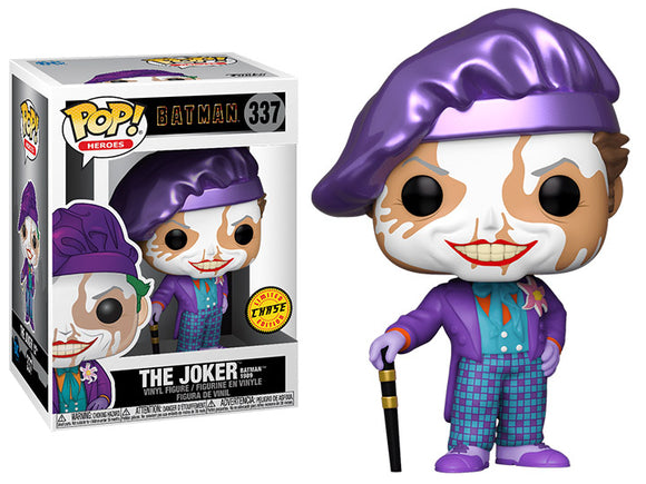 The Joker CHASE Version Batman 1989 Movie  Funko pop