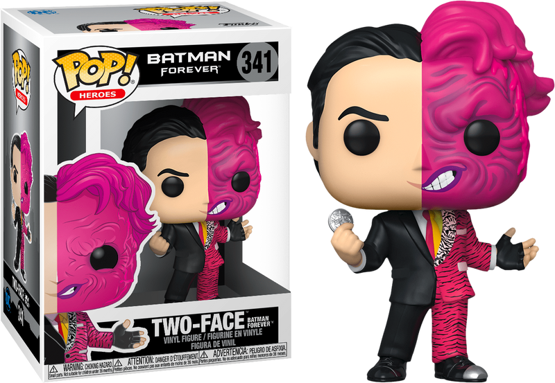 Two Face From Batman Forever Funko Pop Number 341