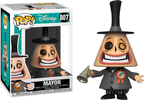 Mayor funko pop from nightmare before Christmas