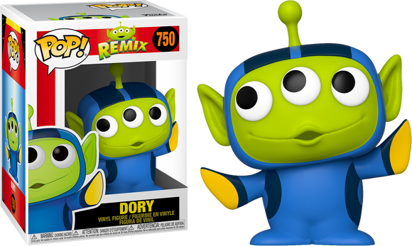 Alien Remix Dory funko pop pixar