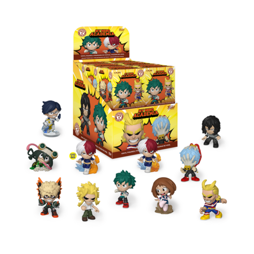 My Hero Academia Funko Exclusive Mystery Minis Blind Pack Single