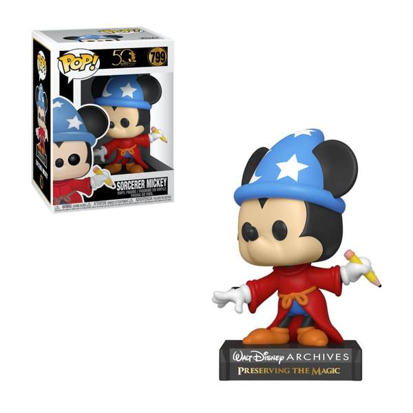 Disney Archives Sorcerer Mickey Mouse funko pop