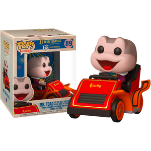 Mr Toad In Car Disneyland 65th anniversary Funko pop