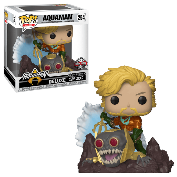 Aquaman Jim Lee Exclusive Funko Pop