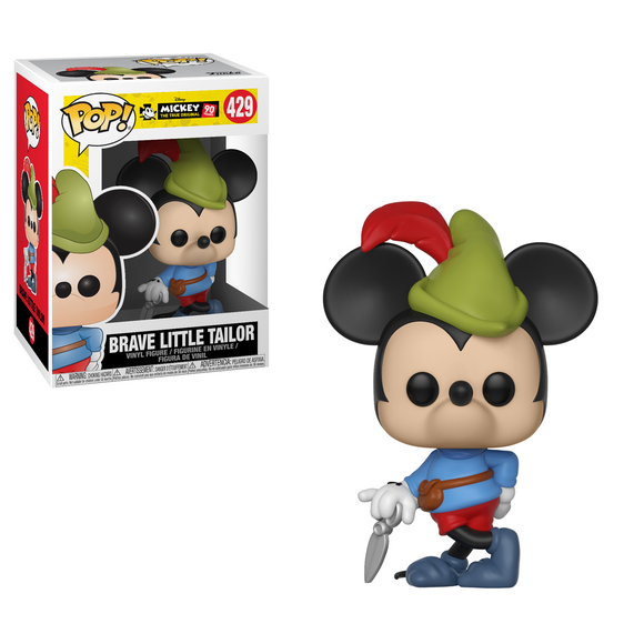 Brave Little Taylor Mickey Mouse Funko Pop