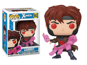 X Men Gambit Throwing Cards Funko Pop