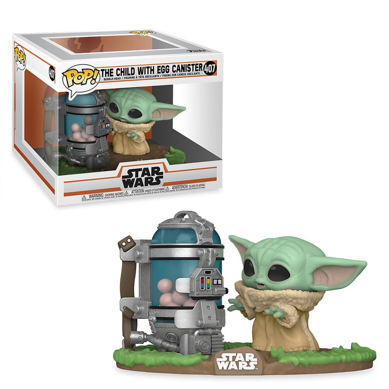 The Child With Egg Canister Funko Pop From The Mandalorian