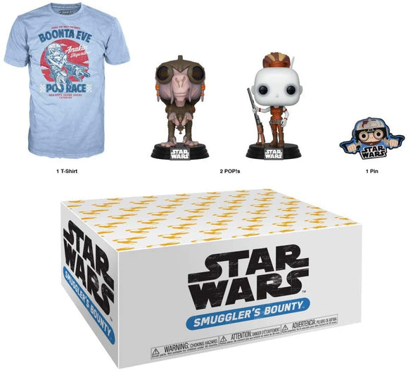 Star Wars Smugglers Bounty Pod Racing Team Themed Funko Box
