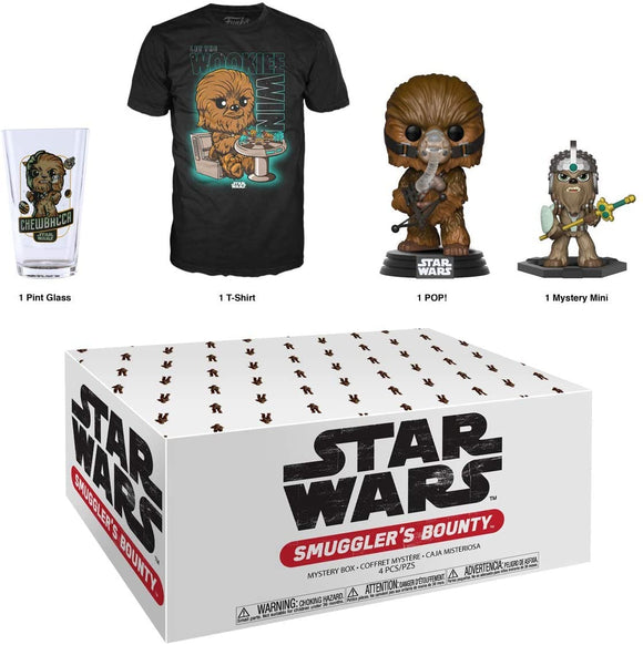 Star Wars Smugglers Bounty Wookie Themed Funko Box