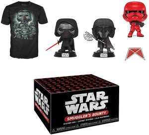 Star Wars Smugglers Bounty Forces of Darkness Themed Funko Box