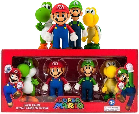 Super Mario Figure set 4 pack