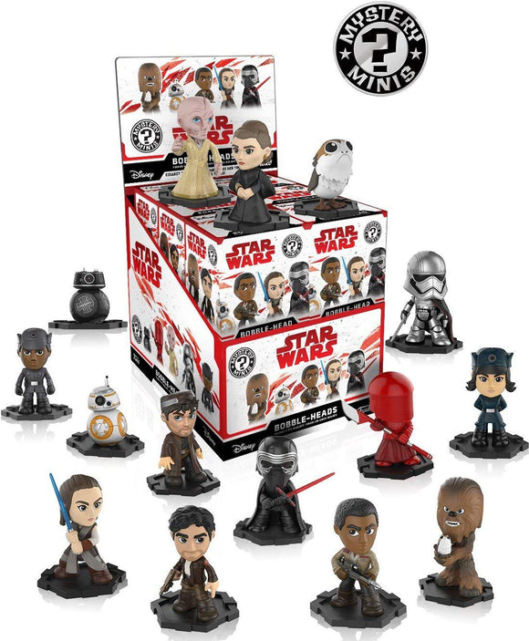 Star Wars Ep 8 Funko Pop Mystery Mini Blind Box single