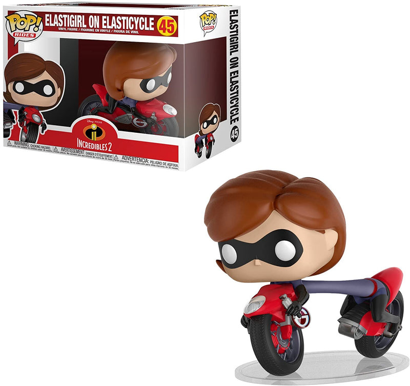 Elastigirl On Cycle Incredibles 2 Funko Pop