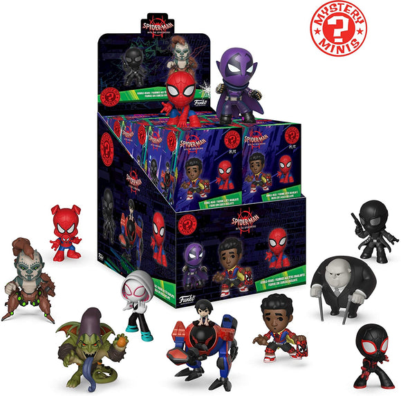 Spiderman into the Spiderverse Funko Mystery Mini single blind box