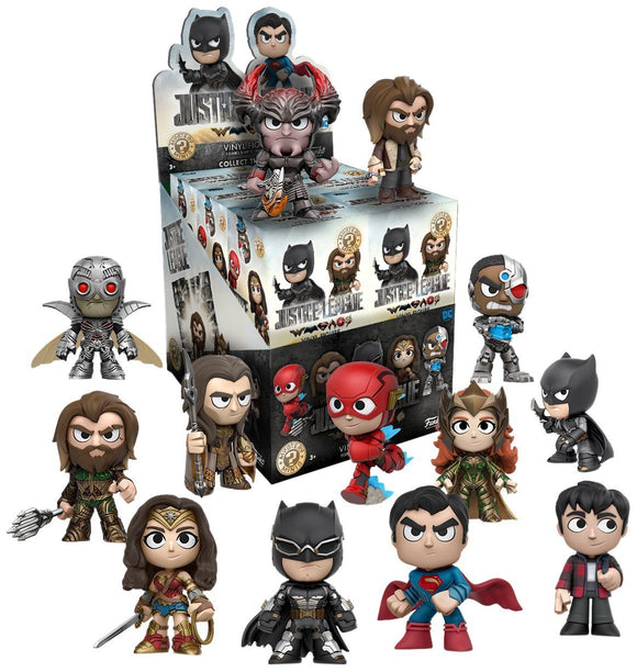 Justice League Funko Mystery Minis Case of 12 sealed
