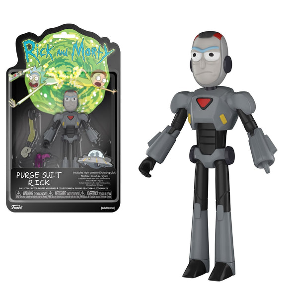 Purge Suit Rick Funko Figure from Rick and Morty