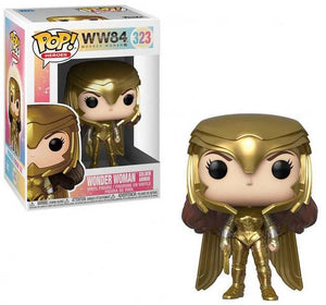 Wonder Woman 1984 Golden Armour Funko Pop