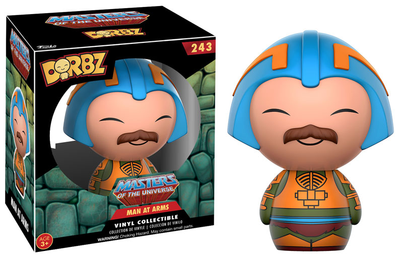Man At Arms HE Man Funko Dorbz Figure