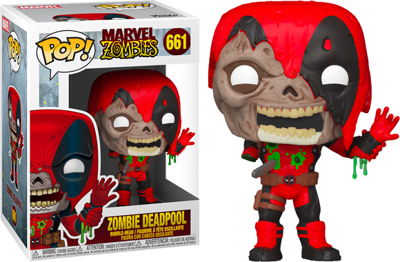 Marvel Zombies Deadpool Funko Pop