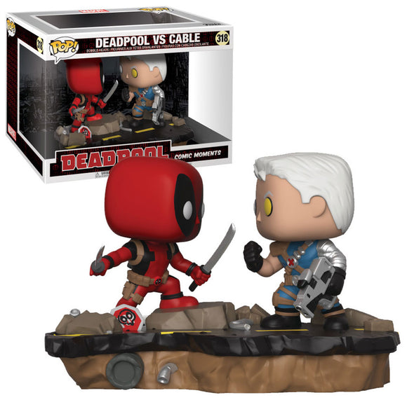Deadpool VS Cable Funko Pop Comic moments