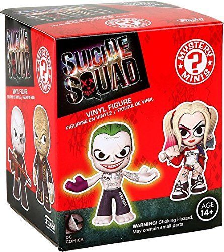 Suicide squad Funko Mystery Mini Single Blind Box