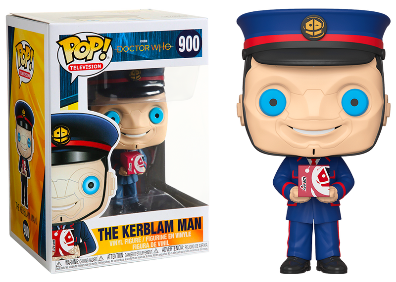 The Kerblam Man Dr Who Funko Pop