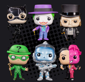 Batman Villains Set of 6 Pops Bundle