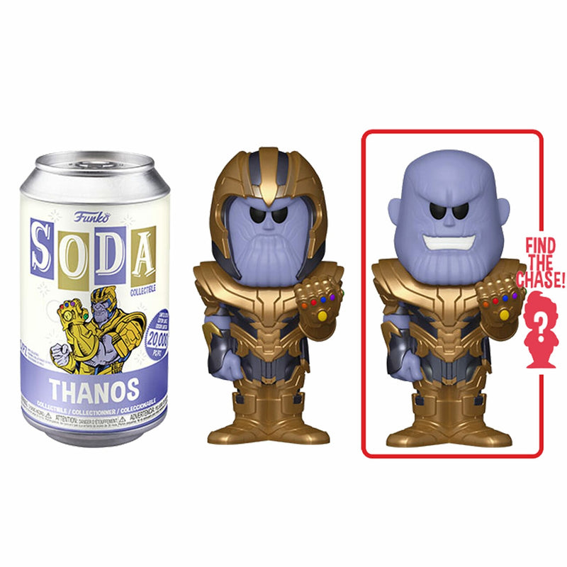 Thanos Funko Soda Figure